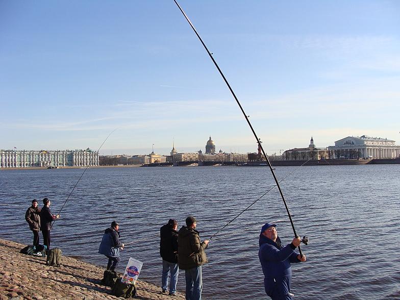 Рыболовы в питере